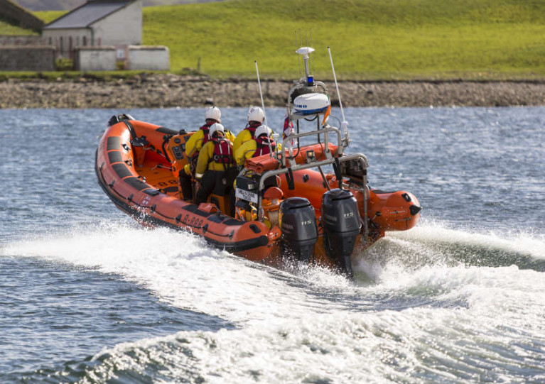 File image of Sligo Bay RNLI's inshore lifeboat