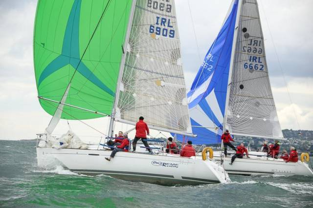 Dublin Bay Sailing Club Results for Thursday, 15 June 2017