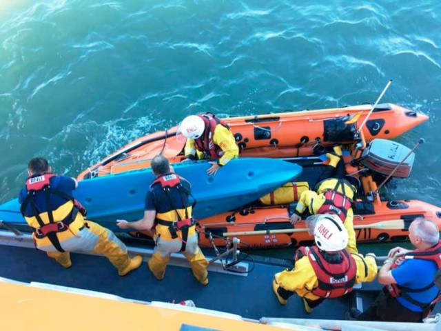 Courtown Lifeboat Volunteers Feature In New Series Of 'Saving Lives At Sea'