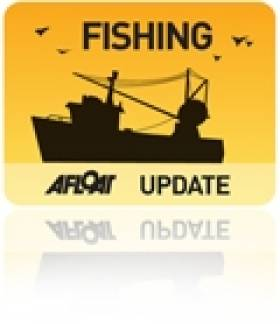 Fish Processing Trawler Calls to Dublin Port