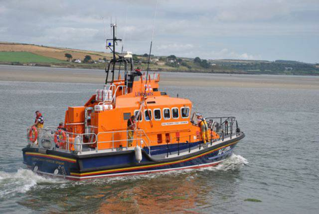 File photo of Courtmacsherry's all-weather lifeboat