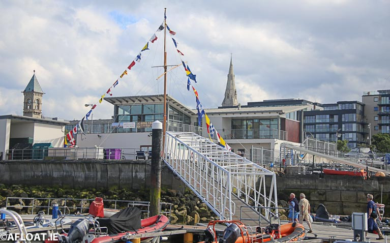 Full access - Dun Laoghaire Marina opens again to berth holders on May 18