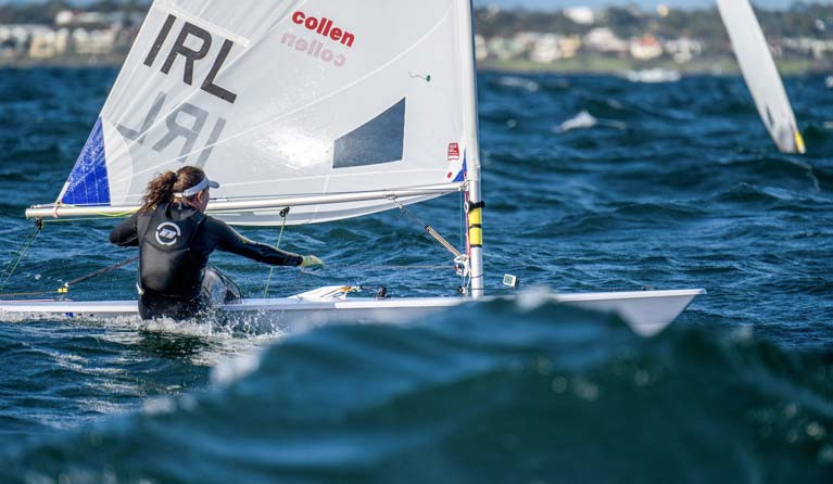 Annalise Murphy - two second places scored in races eight and nine of the World Championships