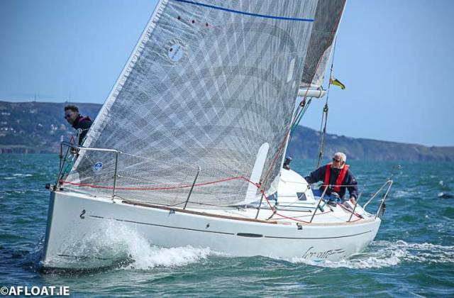 Michael Leahy & John Power's Levante  from the National Yacht Club was the Beneteau 31.7 One Design DBSC race winner