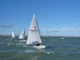 Laser racing in Howth on Sunday 10 February