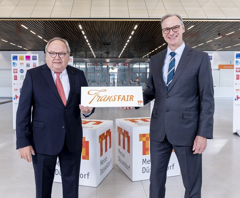 Wolfram Diener (right) is taking over from Werner Dornscheidt