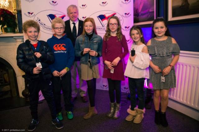 National Yacht Club junior sailors celebrate sailing achievements in Dun Laoghaire. Scroll down for more photos