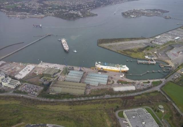 Ringaskiddy, Port of Cork which saw increased profits in 2015 to almost €4.5m