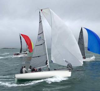 Big breeze for the first day of the 1720 Nationals off Baltimore in West Cork