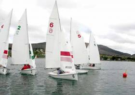 The School's team racing event was scheduled to compete in Schull's own TR3.6 fleet