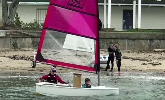 Two–Handed Optimist Dinghy 'O-Pro' with a Pointy Bow Revealed