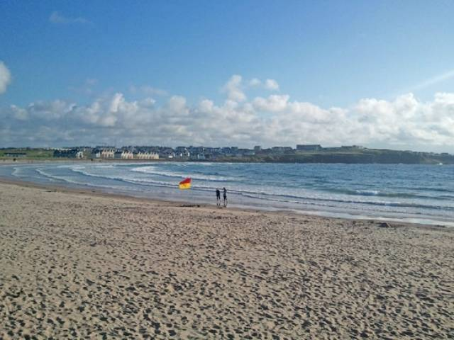 Portrush will host a tandem surfing contest for charity this Sunday 20 March