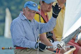 Stuart Walker at the 2012 Vintage Yachting Games