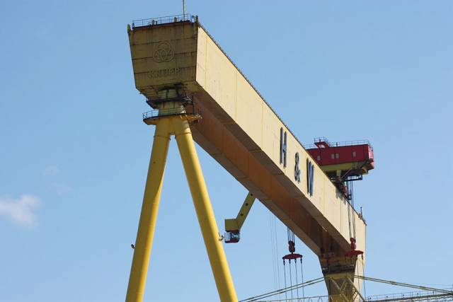 'Business As Usual' At Harland & Wolff As Owner Says It's Filing For Bankruptcy