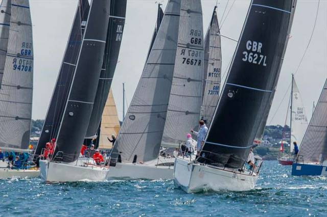 The growing RC35 class were one of the strengths of the successful Bangor Town regatta in 2018. The Regatta is now set to be run on a biennial basis