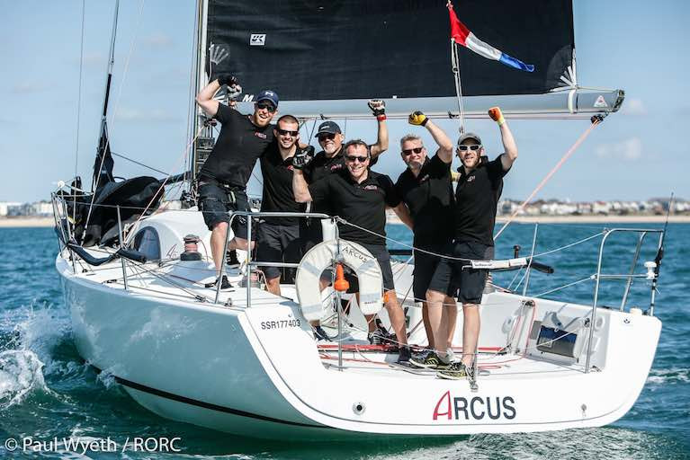 Arcus A35 (John Howell and Paul Newell) - Overall winner of the 2020 UK IRC National Championship