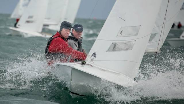 Charles Apthorp and Alan Green were convincing winners of the Flying Fifteen East Coasts at the National YC