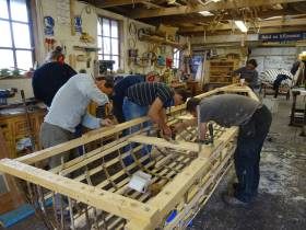 Launch of Migrant–Built Traditional Currach in Cork