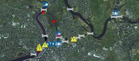 The stretch of navigation from Limerick City to Parteen Weir is closed to navigation due to delays in making repairs