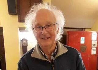 GP14 International President - Curly Morris of East Antrim Boat Club