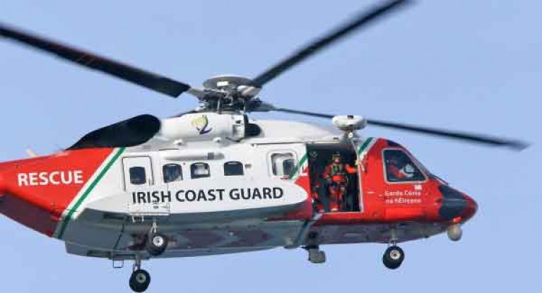 The four Irish Coast Guard search and rescue helicopters based at Dublin, Shannon, Waterford and Sligo flew lover 770 missions last year,