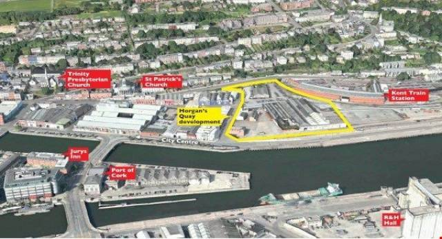 Horgan's Quay in Cork City, site of major development