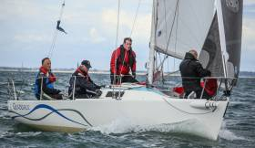 Class 2 of Howth Yacht Club's Autumn League includes the club's newest assets, where up to five HYC J80s and Dominic O'Keefe's J80 'Graduate' from RIYC in Dun Laoghaire will compete
