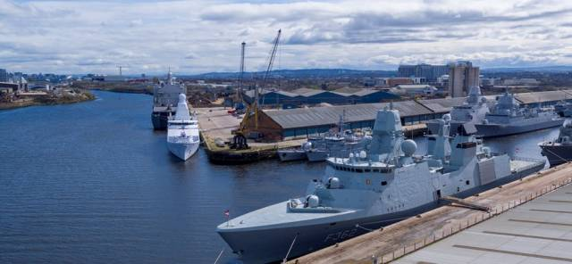 Clydeport was host to a major gathering of international navies prior to conducting Joint Warrior, one of the largest military exercises of its type to be held in the world which is taking place early this month off western Scotland