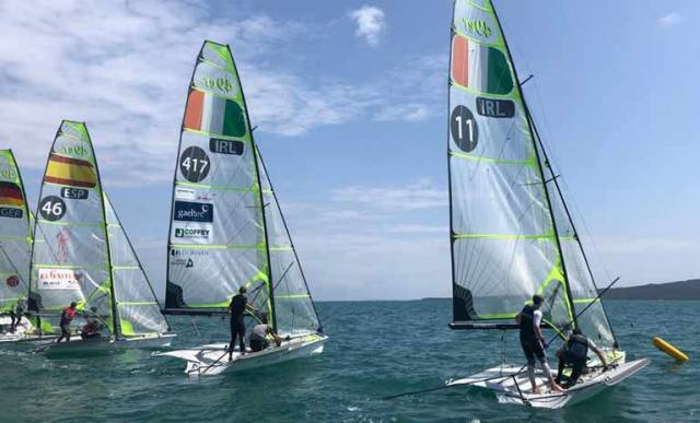 Irish 49er Skiffs Face Big Test for Olympic Qualifier in New Zealand