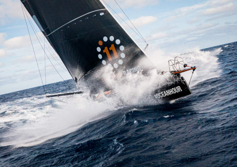 11th Hour Racing Team crossing the North Atlantic in August
