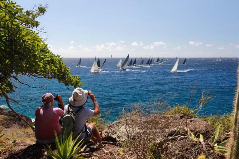 The start of the RORC Caribbean 600 Race