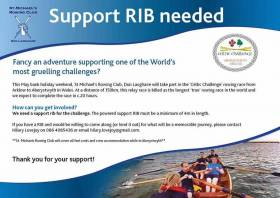RIB Needed For Charity Irish Sea Coastal Rowing Race