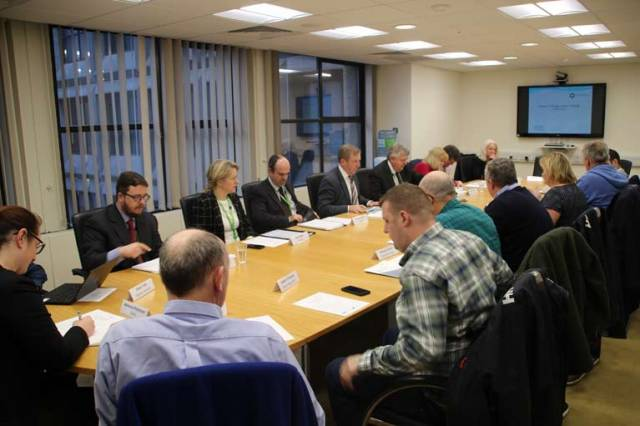 A meeting of the National and Regional Inshore Fisheries Forum
