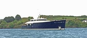 The 'Galileo G' is a 55m Perini Navi ice class