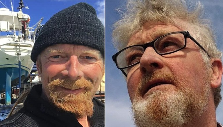 Younger brother Peter Lawless (left) aims to complete a solo circumnavigation in 2021, a year before his brother Pat (right) departs on the 2022 Golden Globe Race