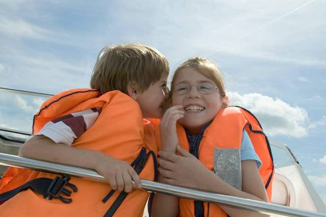 Children are especially vulnerable on or near the water - be sure they're wearing a lifejacket on board