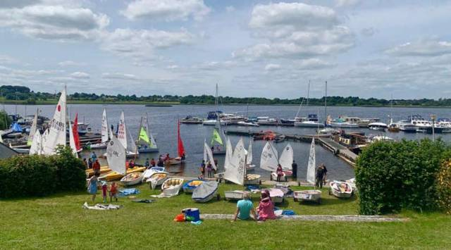 A view from Lough Ree Yacht Club