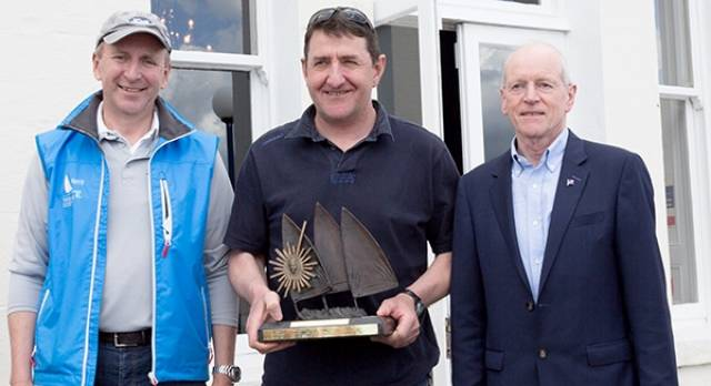 Royal Cork's Nick Walsh Crowned Laser Master Champion at National Yacht Club