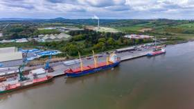 Belview, Co. Kilkenny is the main terminal at the Port of Waterford where planning permission has been granted to build bulk-storage facilities.