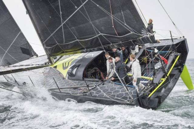 Hugo Boss Trialling in Cork Harbour this week