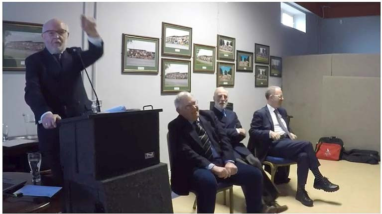 There was a packed house for Lough Ree Yacht Club's Historical Symposium in February