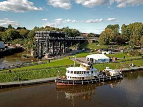 In the UK, the future of the historic steam powered tug, Danny Adamson, is to be safeguarded thanks to a donation. The veteran vessel used the canal network with cargoes to and from the Port of Liverpool, featured in recent months on Channel 4's 'Great Canal Journeys' along with the impressive Anderton Boat lift which links the Trent & Mersey Canal and the River Weaver.