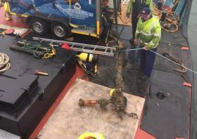 The anchor recovered near Warrenpoint this week
