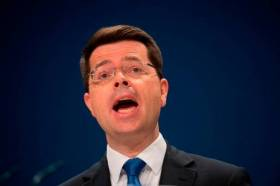 Northern Ireland Secretary James Brokenshire has spoken of the UK to move frontline immigration controls to Irish ports and airports so to avoid  a 'hard border'