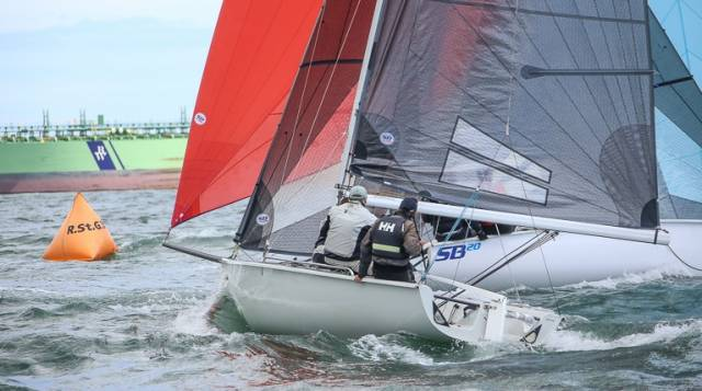 SB20s will be one of three fleets racing on Dublin Bay in an October finale
