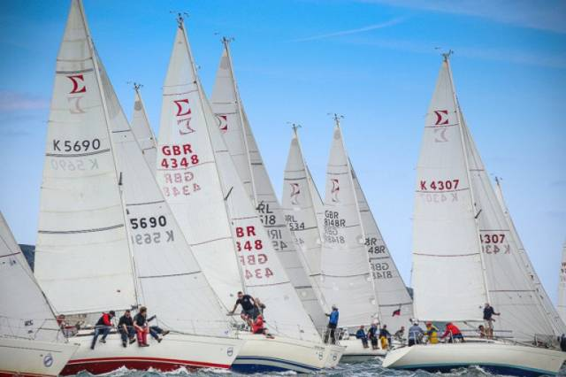 Last year's Dun Laoghaire Regatta had up to 20 entries including nine from the home waters and ten visitors from Northern Ireland, Scotland, England, the Isle of Man and local boats from Arklow and Waterford. A similar number are expected for this year's Class & Irish Championships at the Royal St.George Yacht Club in June