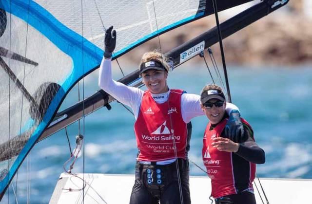 Saskia Tidey Wins Top Royal Irish Yacht Club Award