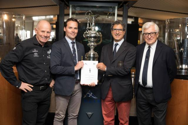 Protocol Announced For 36th America's Cup