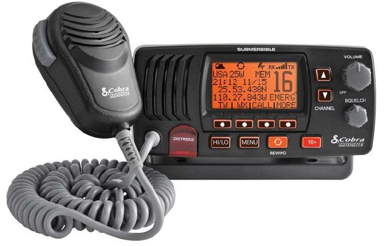 The MRF57B is a powerful Class D DSC VHF radio perfect for short or long range communication, Plug and play GPS capable.