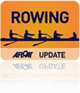 St Joseph's Best Eight at Irish Schools' Rowing Championships
